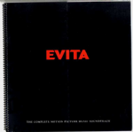 EVITA - USA PROMO SPIRAL BOUND PRESS BOOK